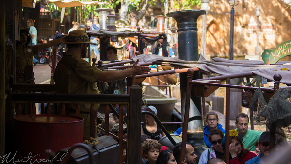 Disneyland Resort, Disneyland, Adventureland, Jungle, Cruise, Dock, Station