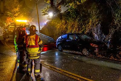 10-29-2020 MVA With Injuries, Bear Mountain Bridge Road