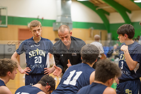 Seton @ Tumwater Boys JV  Basketball