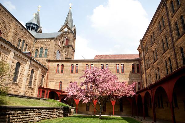 Saint Meinrad Spring Landscapes 2013