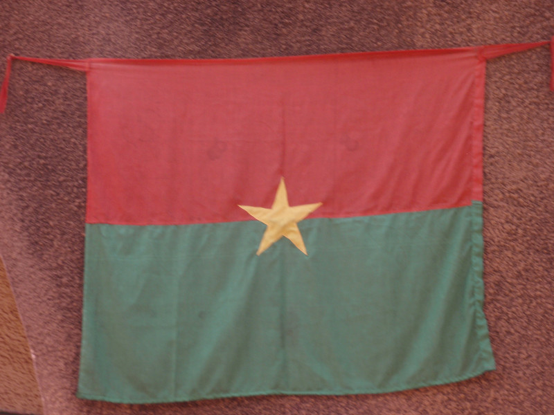 006_Burkina Faso Flag. Not Fully Converted to Islam or Christianity.jpg