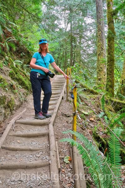 Hiking to Goldstream Trestle