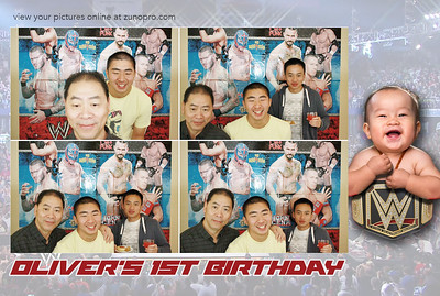Oliver's Birthday - Photobooth