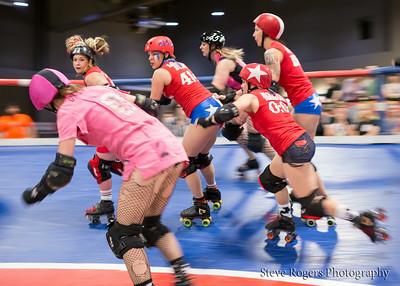 TXRD Hellcats vs. Rhinestone Cowgirls 6/28/2014