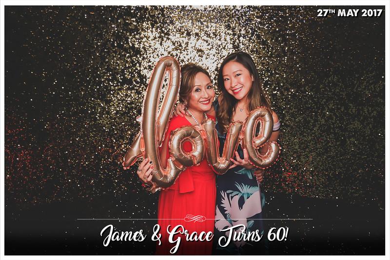 #JAMES&GRACE60TH   © www.SRSLYPhotobooth.sg