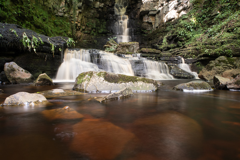 Mill Gill Force,Wensleydale,north Yorkshire