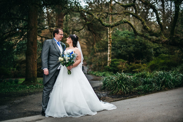 Clyne Gardens- Wedding Portraits