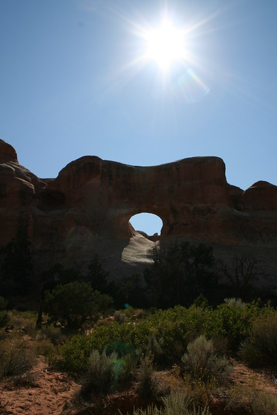20080908-094 - Arches NP - 82 Tunnel Arch.JPG