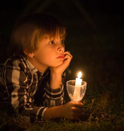 Rancho Nativity Lighting 2015