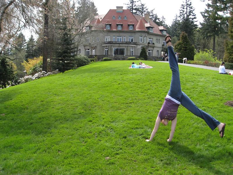 Stacee Calderon - Pittock Mansion, Portland, OR - 4/2008