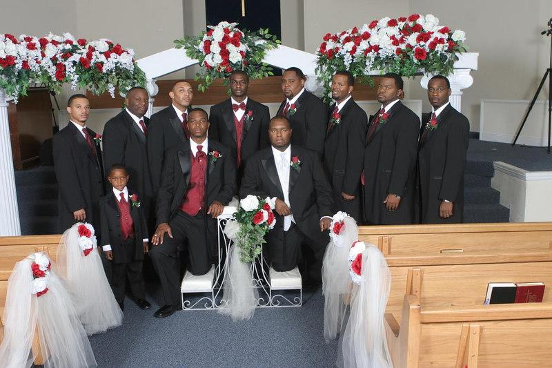 Marcus & Kimesha Wedding Pictures
