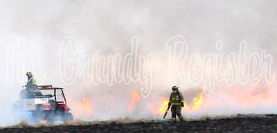 April 9 fire south of Grundy Center