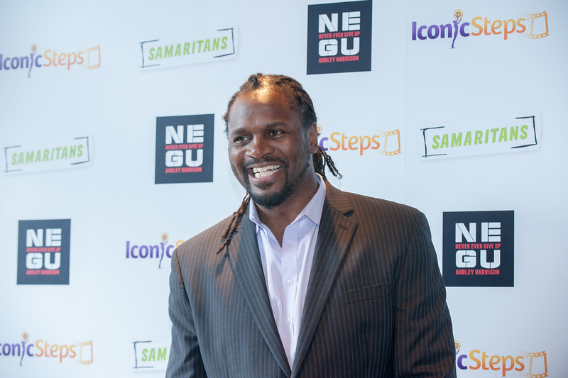Audley Harrison Never Ever Give Up Launch