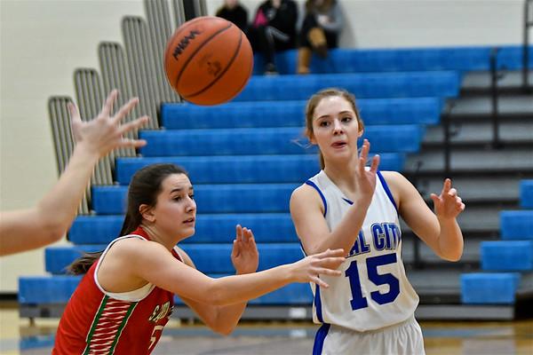 MS Beal City vs Sacred Heart Academy Girls Basketball