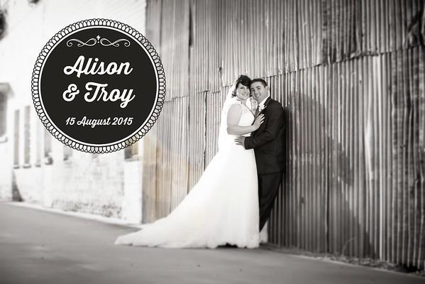 Alison & Troy