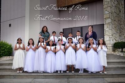 SFR Communion 2018