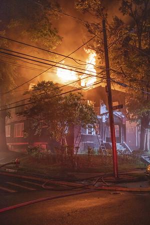 2 Alarm Structure Fire - 235 Westland St, Hartford, CT - 07/25/20