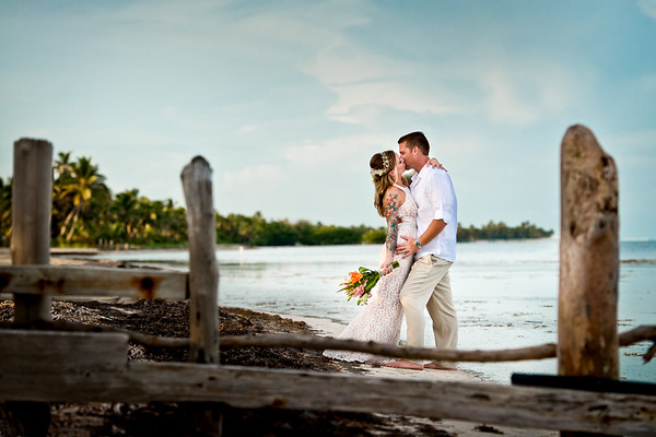 Michelle & Chris - Wedding - Belize - 23rd of August 2017