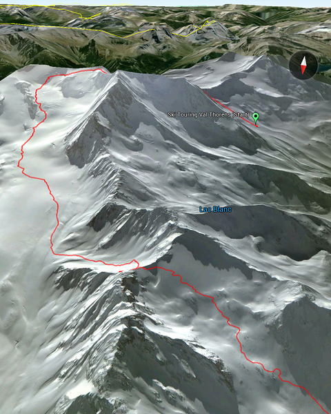 Ski Touring at Val Thorens
