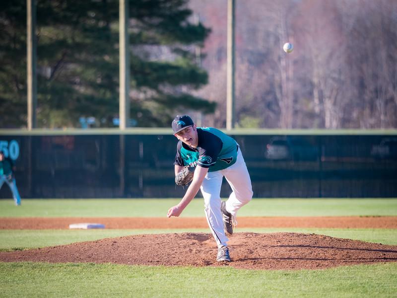 2016-03-22 Nansemond River v Hickory Varsity Baseball