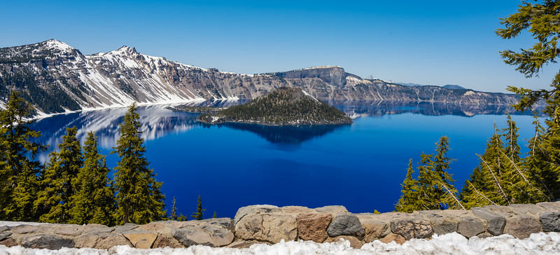 Crater Lake National Park, Oregon - 2021