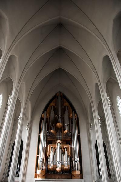 2016.05.20 - Reykjavik, Iceland. Hallgrímskirkja church.