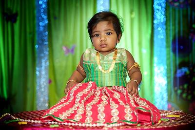 Dhrithi's 1st Birthday