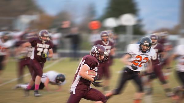 West Side v. Salmon Playoff Football - 2014
