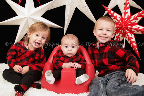 Jace, Paisleigh, Faith - Christmas