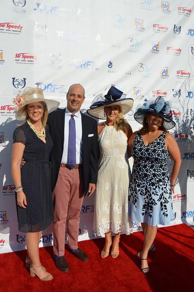 Tammy Stephens (Co-chair) Carol Johnston (Co-chair), Greg Hall, Frisa Hall (Honoree) 4.JPG