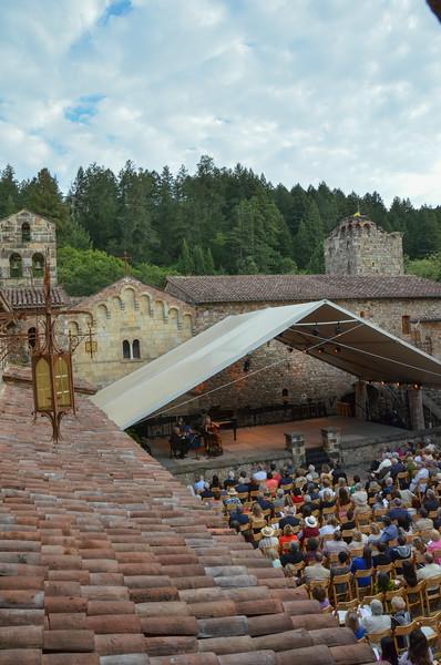 Zukerman ChamberPlayers at Castello di Amorosa