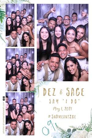 Dez & Sage's Wedding (Magic Mirror Photo Booth)