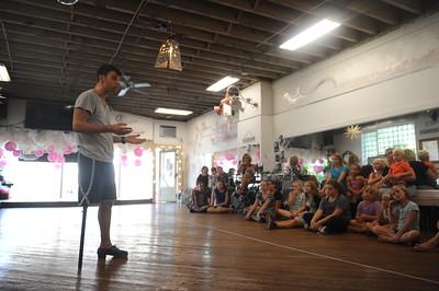 Evan Ruggiero at Karen Gronsky School of Dance