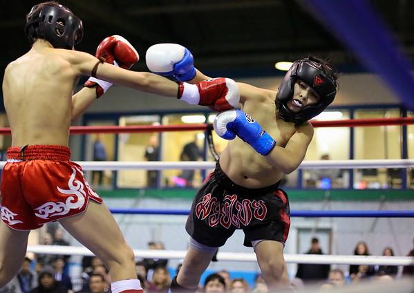 Jet Benjaminson (red) vs. Felix Cardenas (blue)