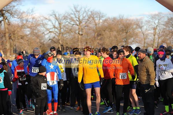 5K Start - 2014 Fifth Third New Year's Eve Run