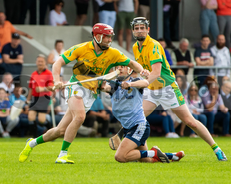 Toomevara's Colm Canning and Nenagh Eire Og's Brian Tuite