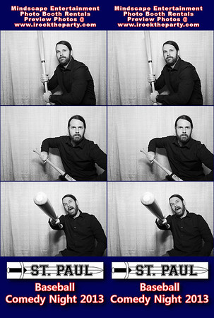 St. Paul High School Baseball Comedy Night 2013 - Photo Booth Pictures