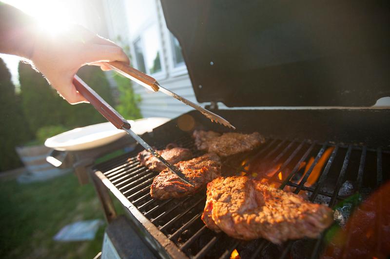 Backyard summer BBQ.