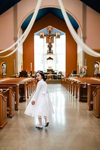Mia 1st Communion