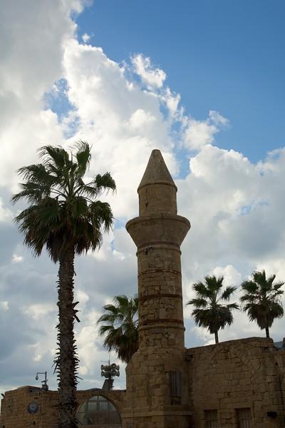 Roman Building in Caesarea National Park