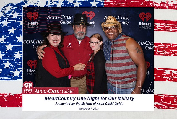11.7.2018 - One Night For Our Military - iHR + Accu-Chek Guide