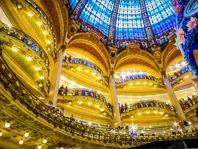 Galeries Lafayette in Paris