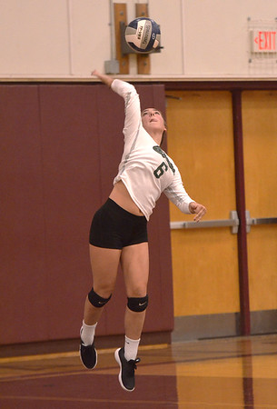 Shen girls volleyball at Burnt Hills 9_26_2018
