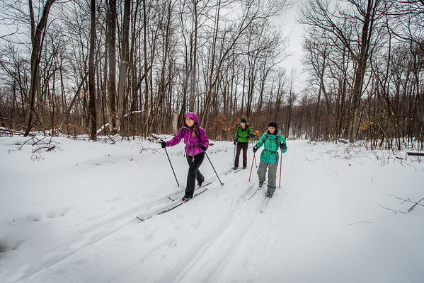 2-21 Snake Hill Cross Country Skiing