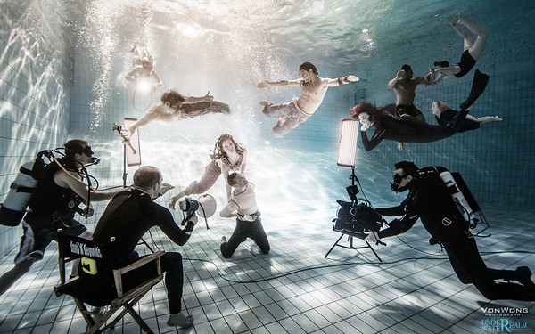 Von Wong shoots the Underwater Realm