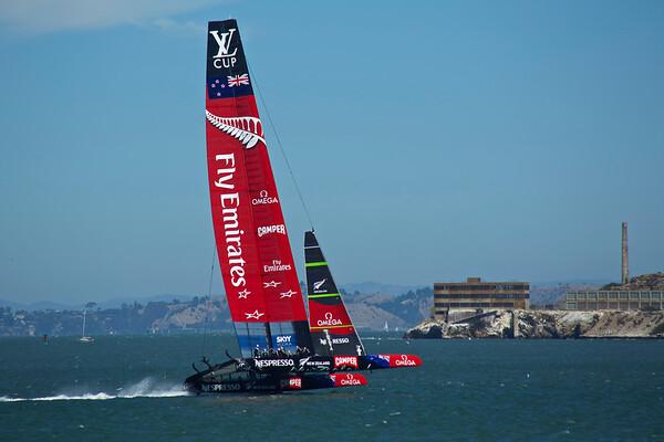 San Francisco Louis Vuitton Cup 2013