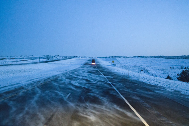 Wyoming I-80 Near Cheyenne