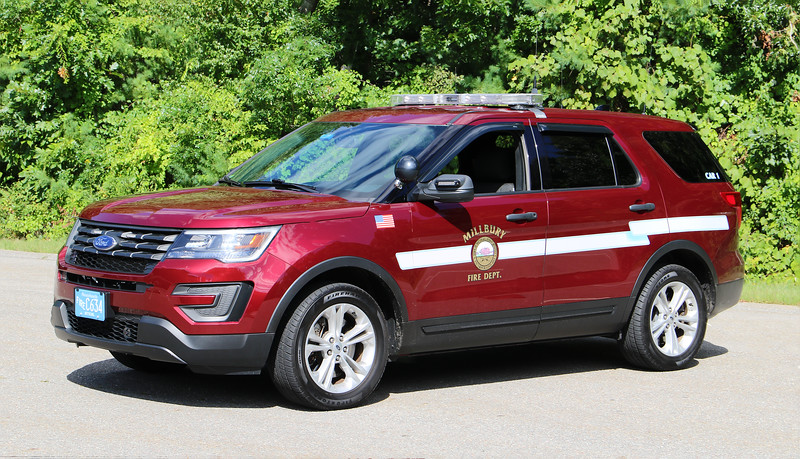 Car 1.  2019 Ford Explorer