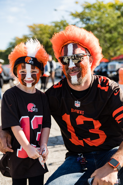 Cleveland Brown's Tailgate 10-13-19