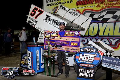 Port Royal Speedway - 10/9/20 - Troy Junkins
